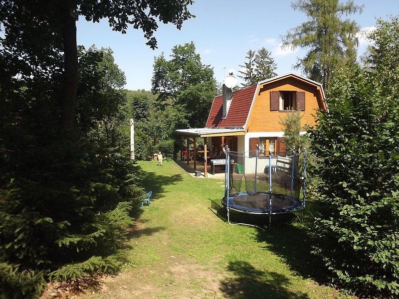 Presa Cottage Vranov con gran jardín