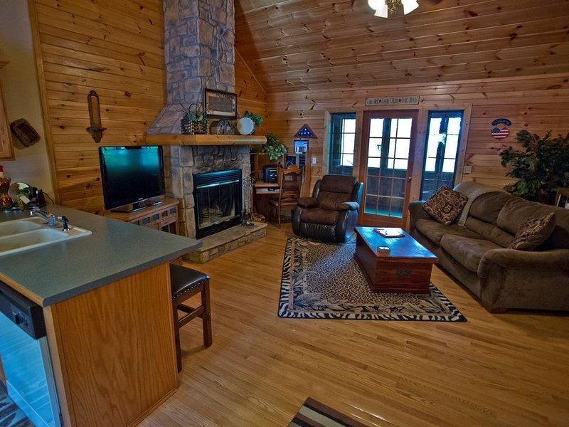 Charming Log Cabin (Cabin Dreams), location de vacances à Branson ouest