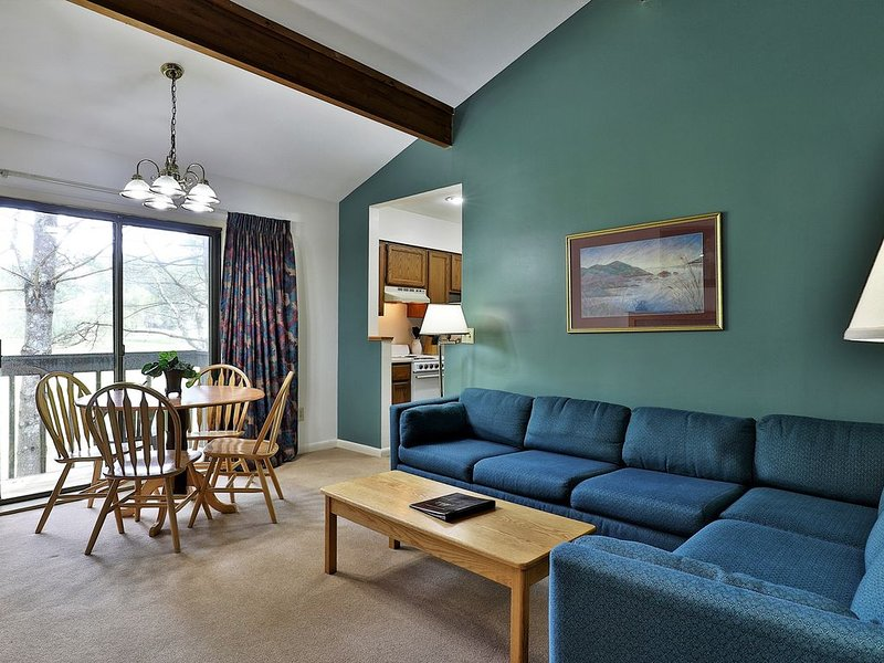 203 Deluxe One bedroom Queen Suite w/ outdoor heated pool, holiday rental in Sherburne
