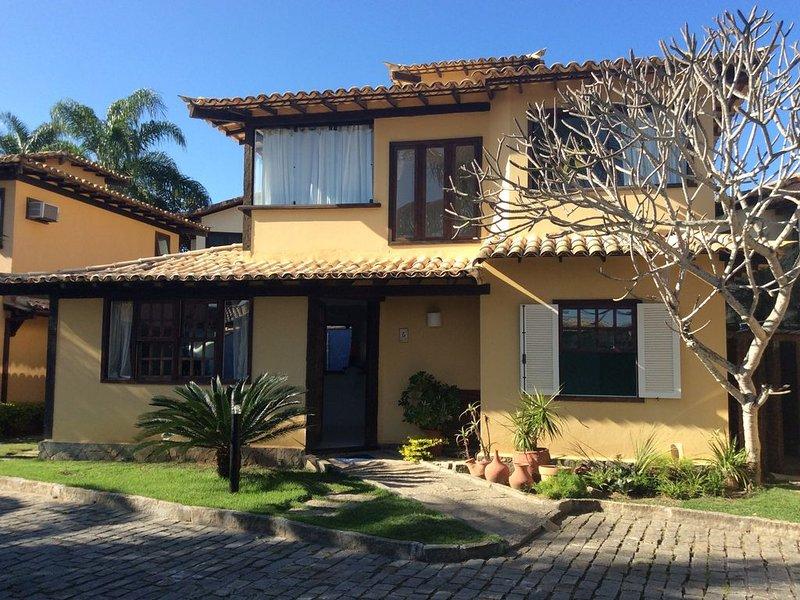 Casa aconchegante e estilosa em Geribá...100 passinhos da praia�♂️��♀️��, holiday rental in Armacao dos Buzios