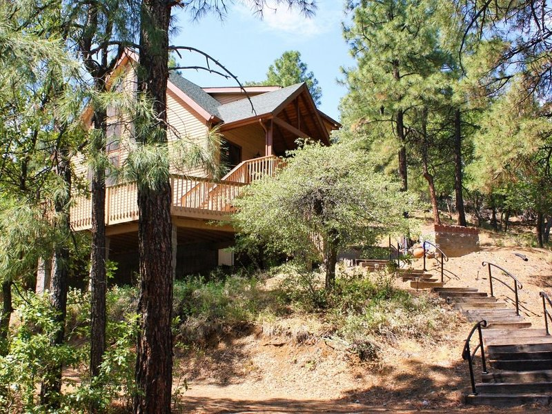 A-Frame Vacay - Prescott Cabin Rentals, casa vacanza a Skull Valley