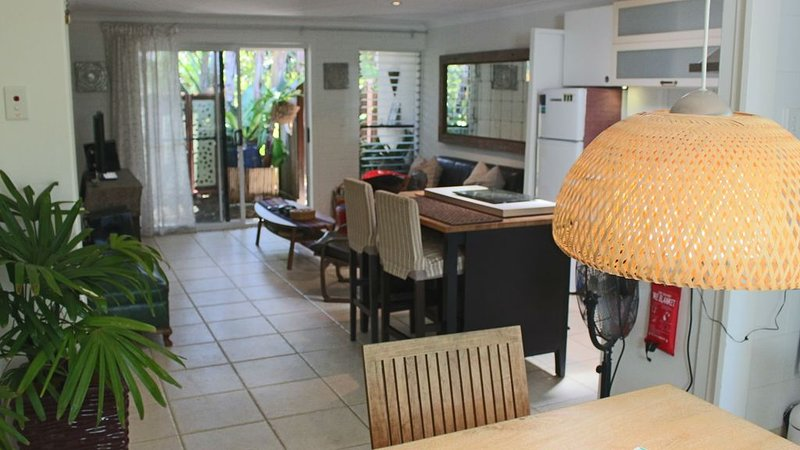 Tallows Beach Sanctuary, beachside unit, holiday rental in Byron Bay