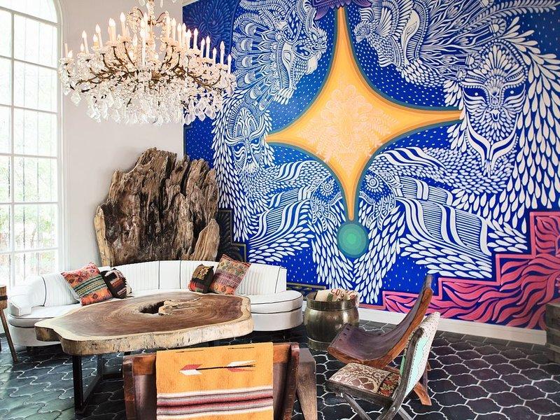 Historic Casa Cartel - Austin Luxury Villa with Courtyard Pool – semesterbostad i Austin