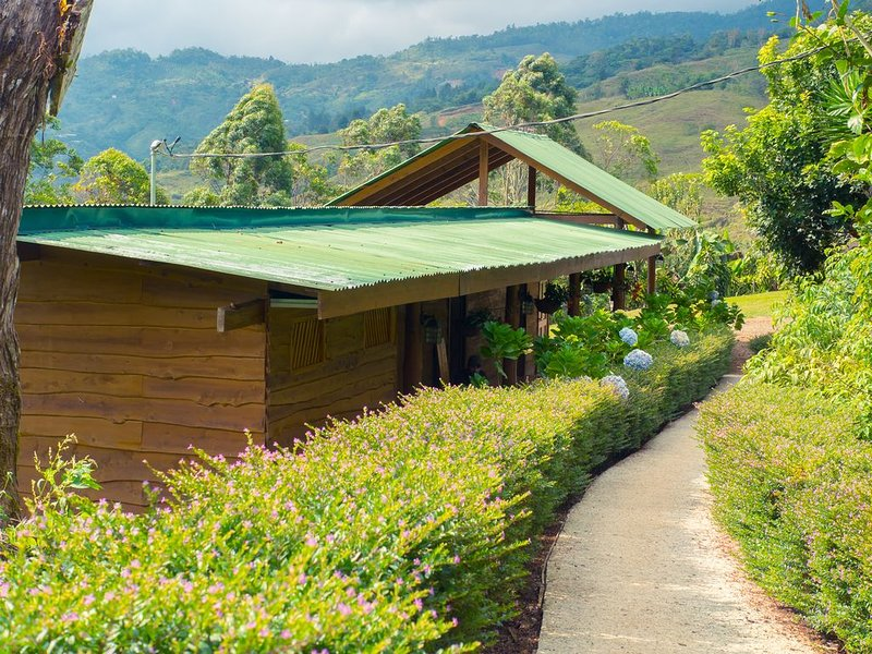 Rain Ecolodge Cabins, vacation rental in San Isidro del General District