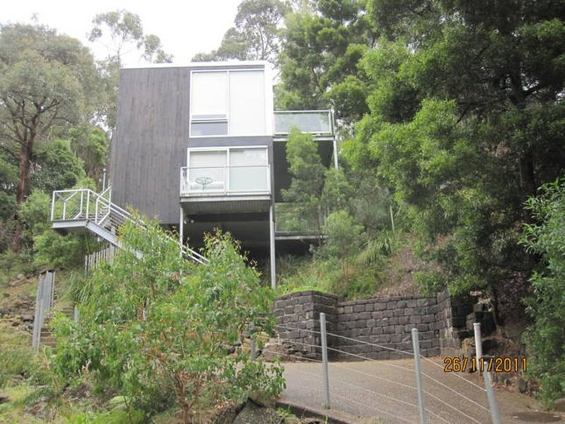 BOULEVARD RETREAT HOUSE - no hills !! short walk to beach and shops, holiday rental in Lorne