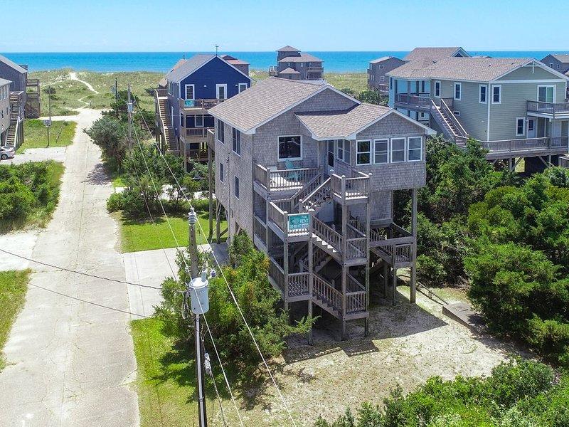 K-Seas Legacy - Alluring 3 Bedroom Oceanside Home in Frisco, holiday rental in Frisco