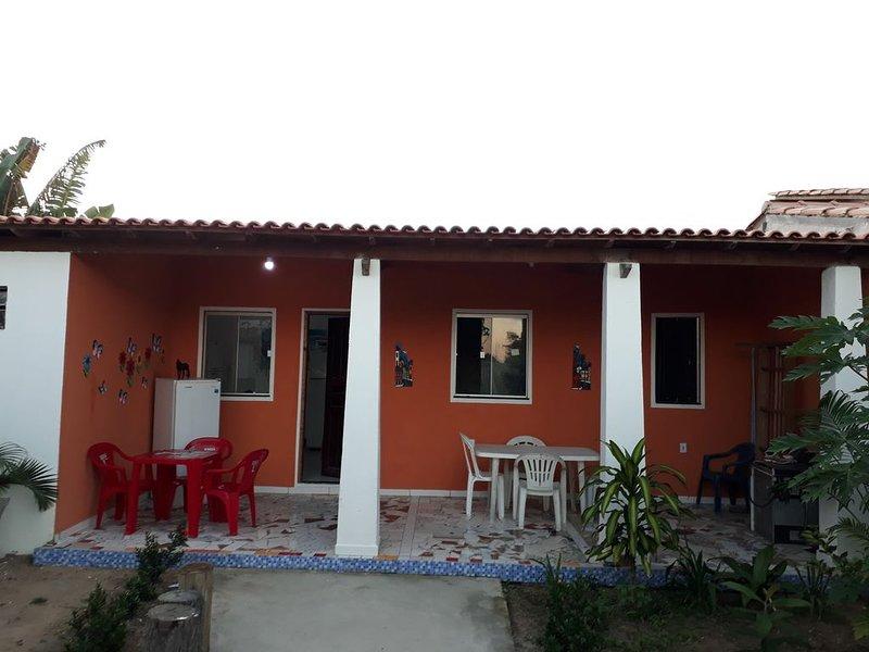 Casa De&Sa:  A Casa florida, vacation rental in Santa Cruz Cabralia