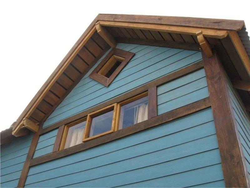 Inlandsis fully equipped cosy cabin 2 double rooms El Chalten, alquiler de vacaciones en El Chaltén