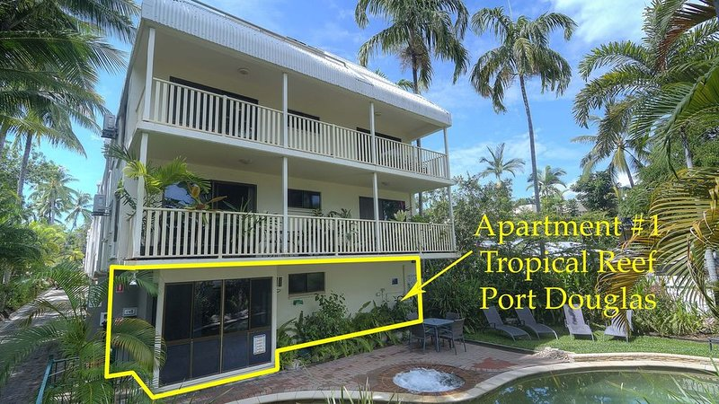 Tropical Reef Apartments-3 bedroom Unit, vacation rental in Port Douglas