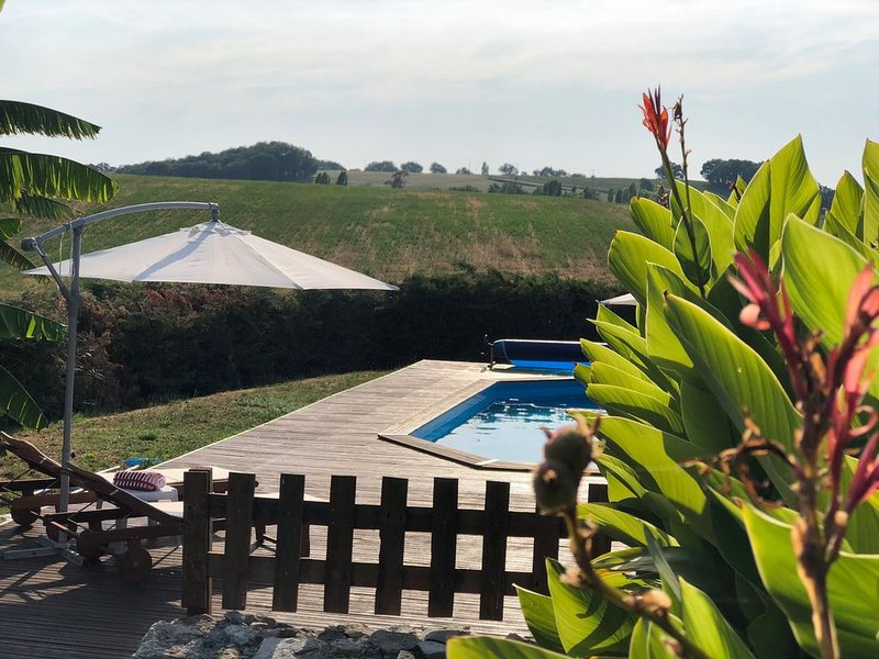 Liguand - Maison d'ami - 1 bed character cottage, vacation rental in Cahuzac