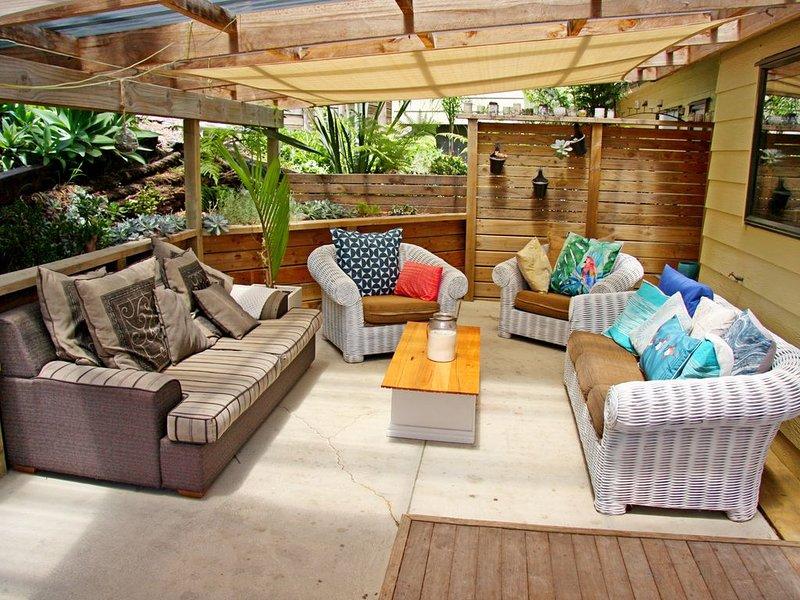Sunny Island Beach House, location de vacances à Clevedon