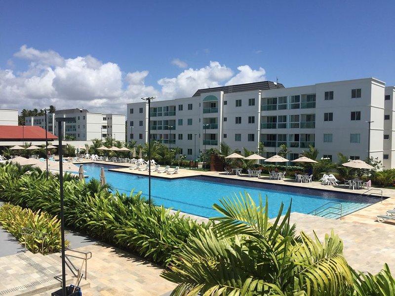 PORTO DE GALINHAS - APTO PALM VILLAGE AQUA - 1 ANDAR, vacation rental in Santo Agostinho