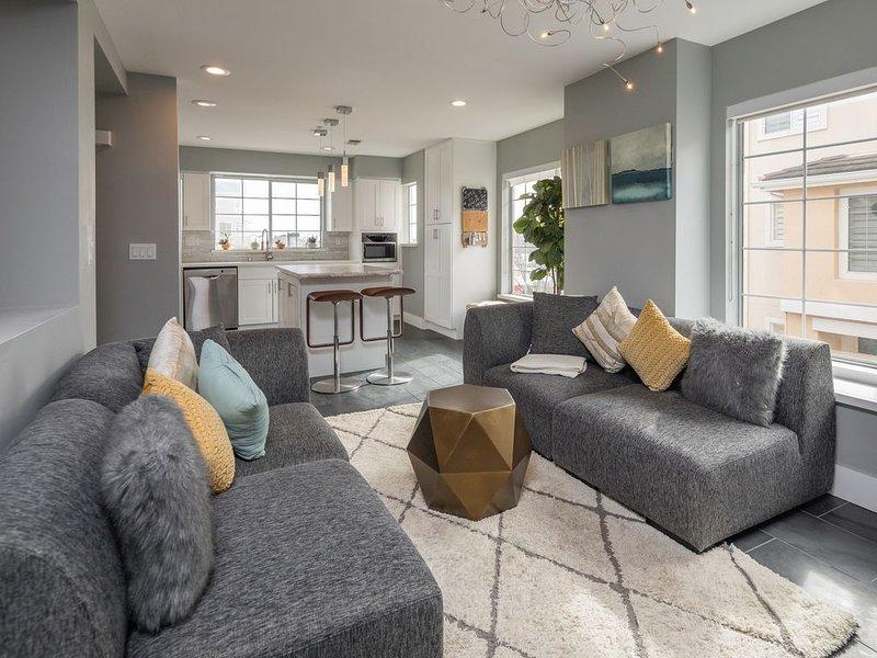 Stylish Harbor Home w/ Marina Views!, vacation rental in San Carlos