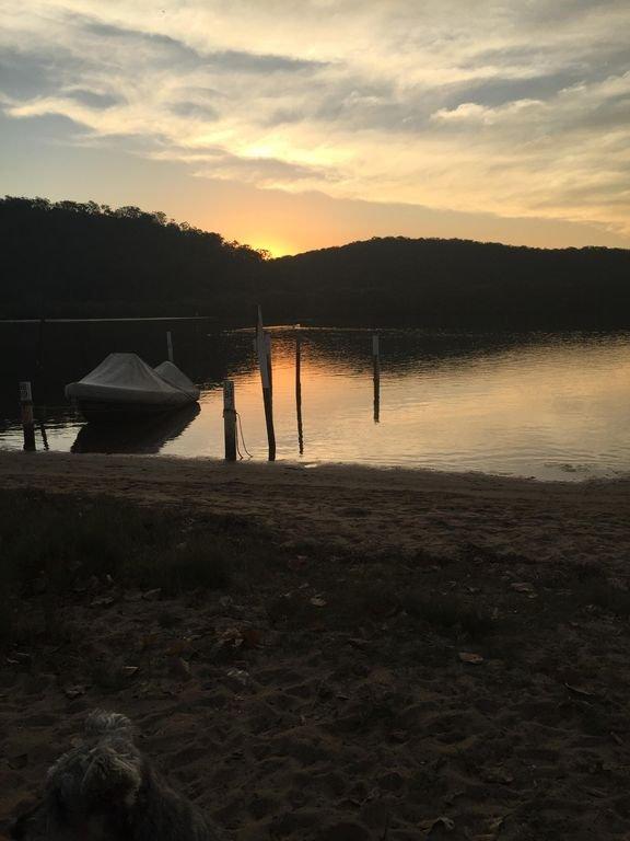 Patonga Creek at sunset - beautiful