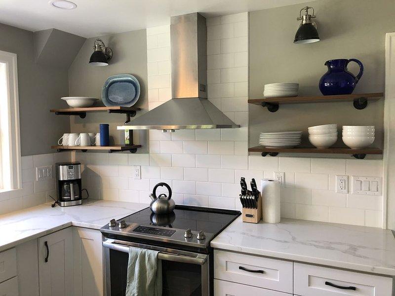 Vernieuwde keuken