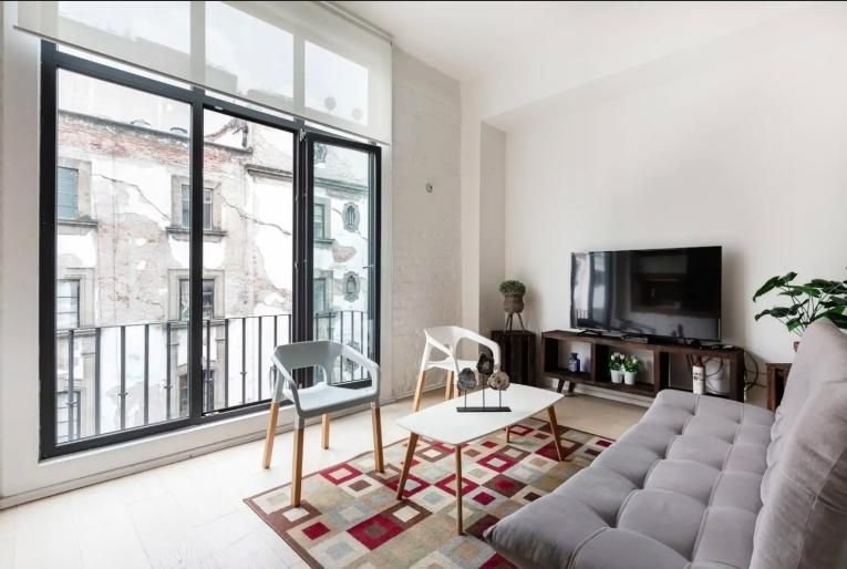Stylish Donceles - Modern loft in Donceles street in CDMX downtown, holiday rental in Ecatepec