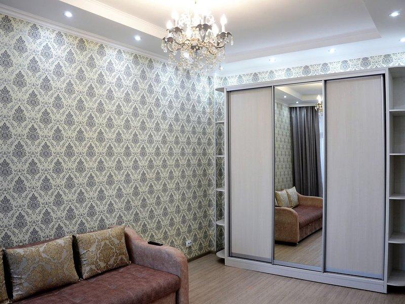 1 комнатная квартира в ЖК 'Экспо бульвар', alquiler vacacional en Akmola Province