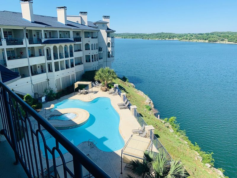 Stunning Lake Travis & Hill Country Views from Top Floor Patio