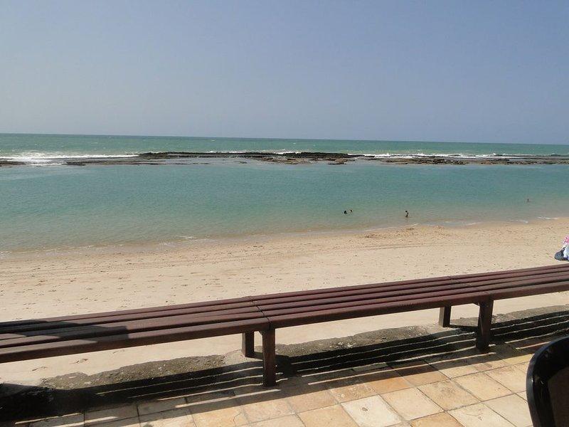 Casa à Beira Mar com 5 suítes na Barra de S Miguel - Quartos com split, casa vacanza a Praia do Frances