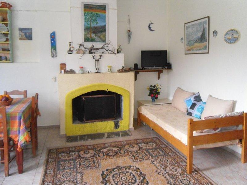 Village house in kambos, holiday rental in Evdilos