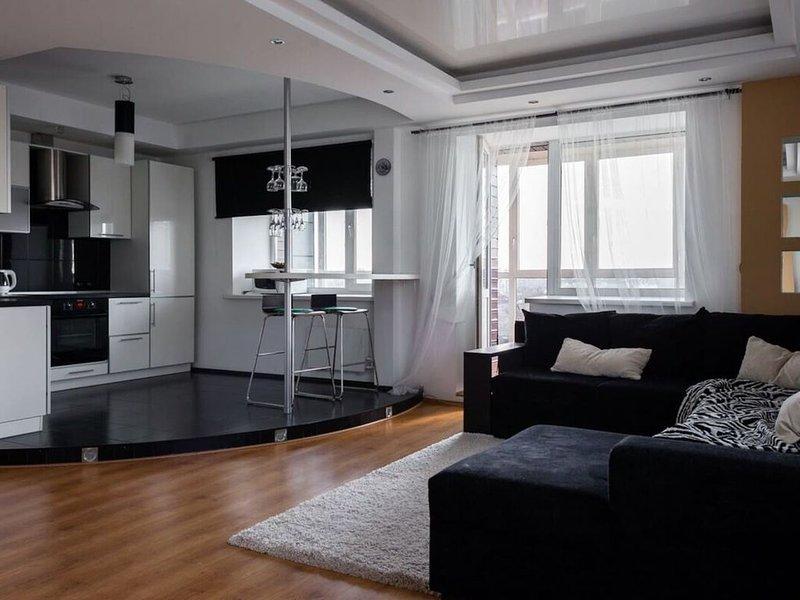 Modern studio in the center of Yekaterinburg, vacation rental in Sverdlovsk Oblast