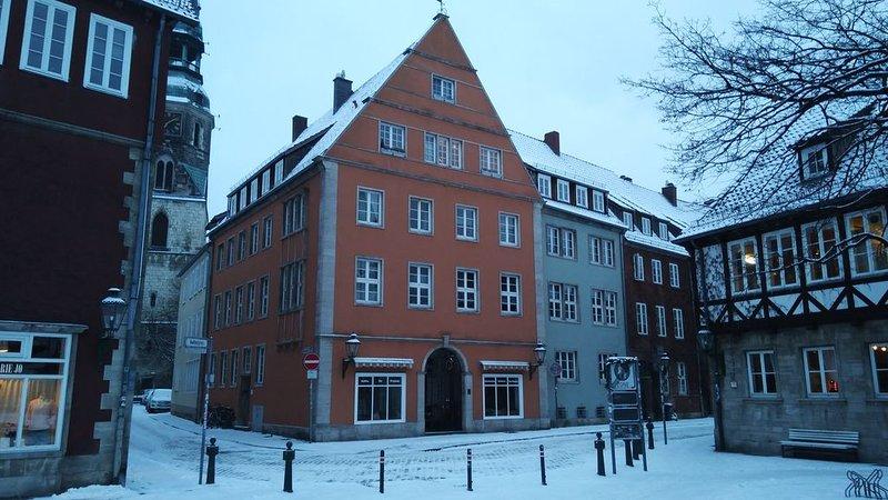 Historic Ballhof Apt, holiday rental in Wunstorf