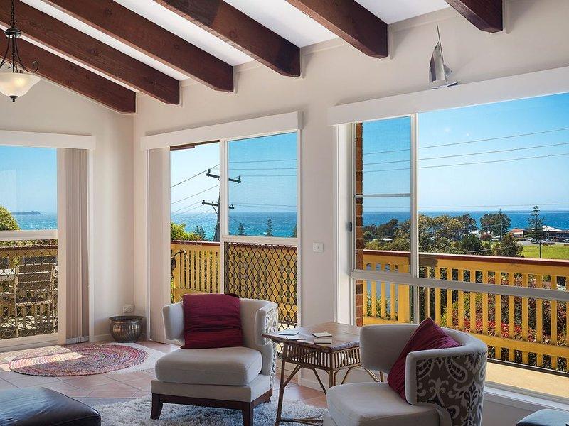 Stunning Ocean Views, Excellent family holiday home, alquiler vacacional en Dalmeny