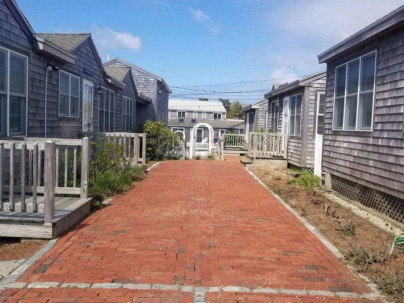 Modern beachfront cottage newly renovated steps from warmest beach...low price!, holiday rental in Yarmouth