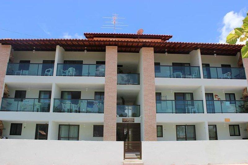 Apartamento no melhor trecho de porto de galinhas, a 50m da praia, alquiler de vacaciones en Estado de Pernambuco