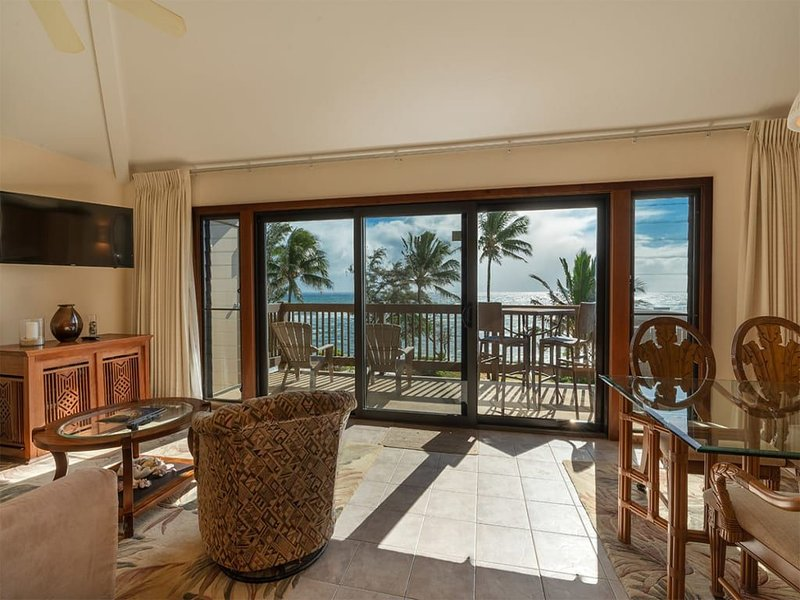 East Kauai OV Bliss! Open Kitchen, Lanai, WiFi, TV, DVD+Ceiling Fans–Kaha Lani 3, alquiler vacacional en Lihue