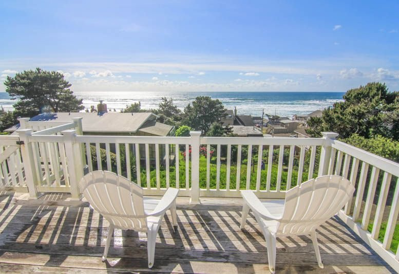 Ocean View Home in Road's End, Great Amenities, Easy Beach Access Nearby, vacation rental in Otis