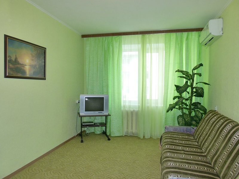 Nice economy apartment 3.5 km to center, nice district, vacation rental in Irpin