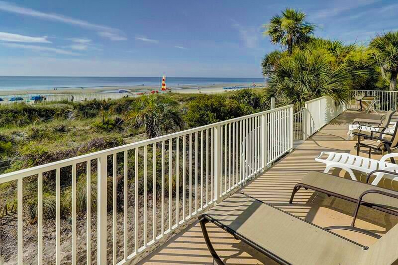 Oceanfront Hilton Head Vacation Rental, holiday rental in Bluffton