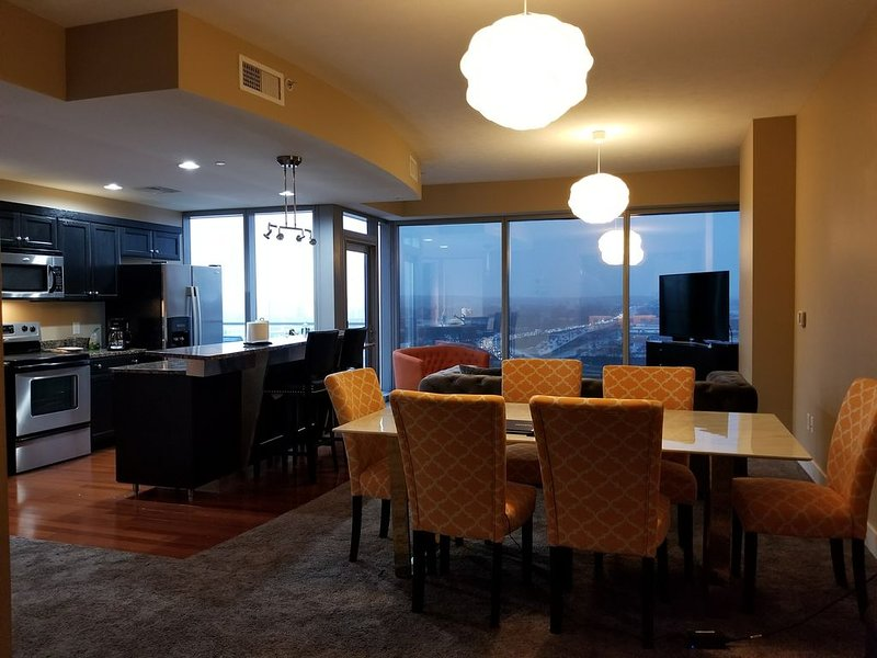 Spacious beautiful 2 bedroom 2 bath condo in downtown of Grand Rapids, holiday rental in Grand Rapids