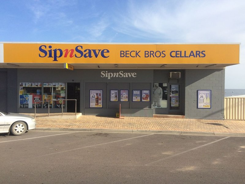 Guests can collect Key to Apartments from Becks Sip nSave Wine Cellars