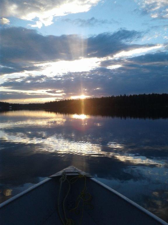 Magnifiques couchers de soleil sur le lac Sheridan