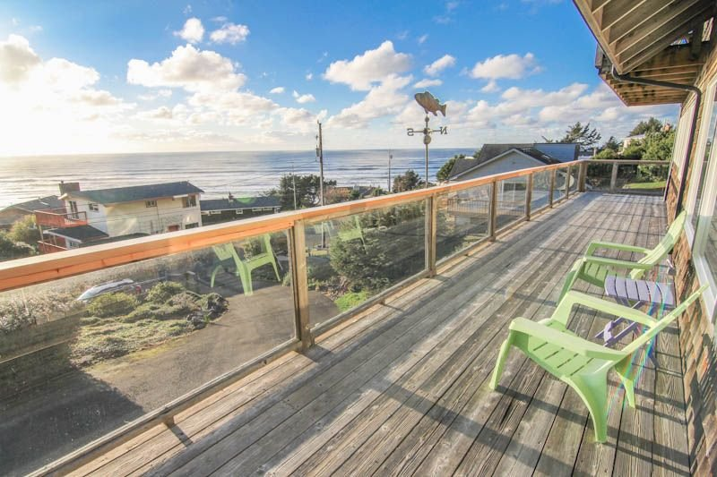 Popular Roads End Home with Spectacular Ocean Views, vacation rental in Otis