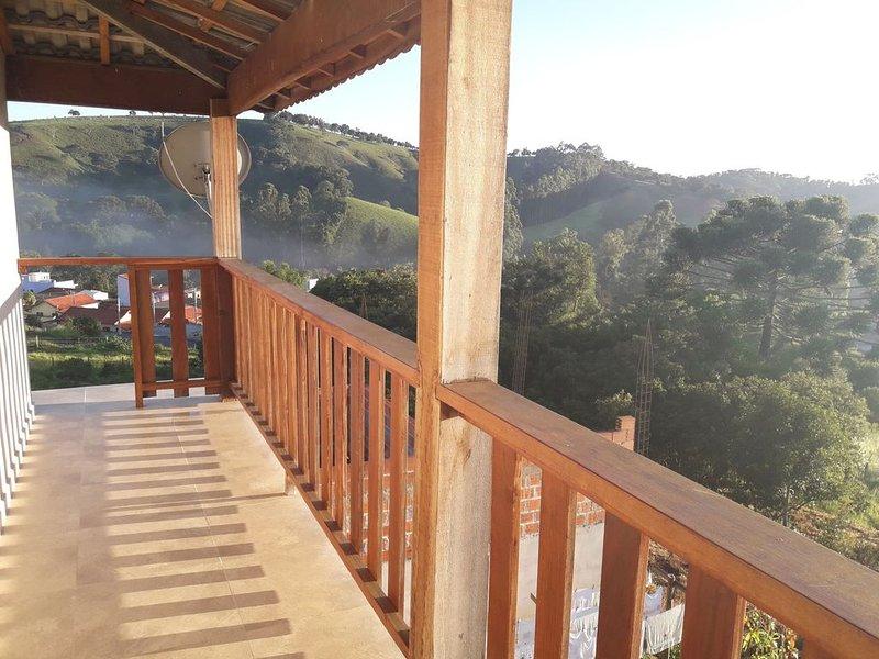 Vista Alegre !!!!!!!!, location de vacances à Cunha