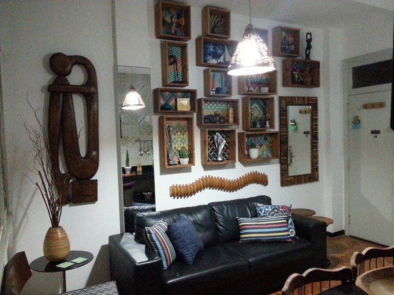 Lindo apartamento em Ipanema totalmente equipado, alquiler de vacaciones en Río de Janeiro