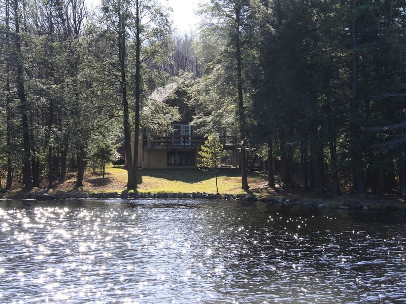 The House (view from the lake)