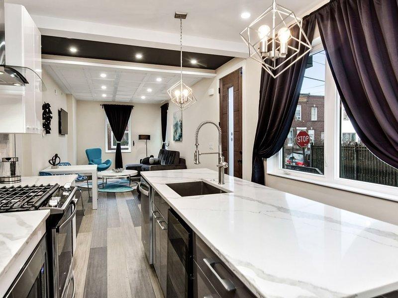 The Blue Lagoon - Bright and Stylish 3BD apartment, aluguéis de temporada em Williamstown