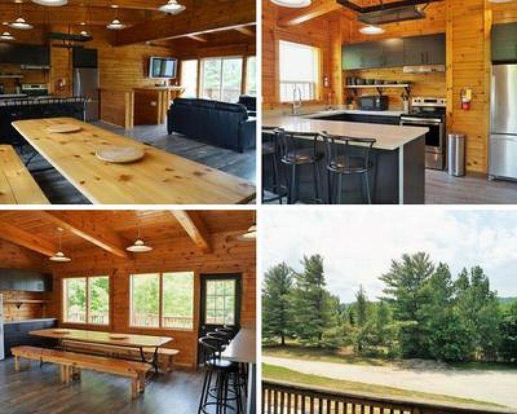 6 Bed Blue Mountain Chalet with Hot Tub Sleeps 16, vacation rental in Craigleith