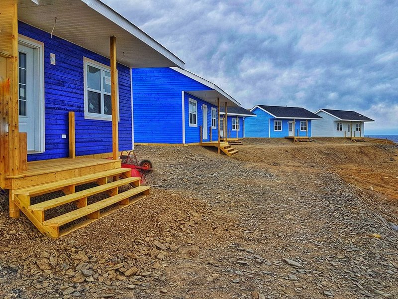 Oceanfront Cottages at the Edge of the World - The Fish Sheds- Uncle Mick's Shed, alquiler de vacaciones en Gros Morne National Park
