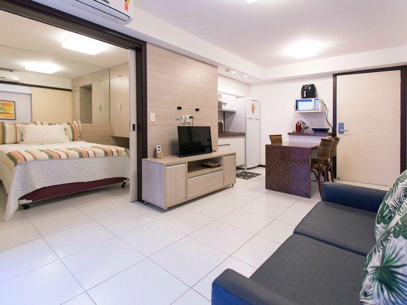 Apartamento mobiliado no Dunas de Cotovelo por Carpediem, alquiler de vacaciones en Nisia Floresta