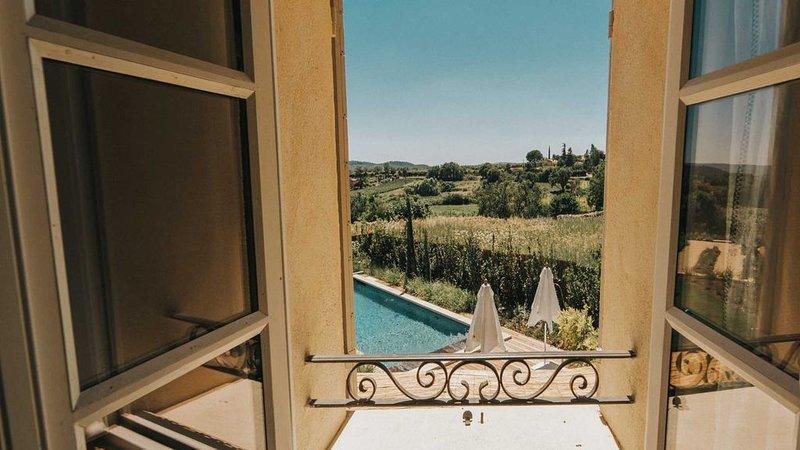 Bedroom 4 Single beds - Mas d'Estieu - Cucuron - Luberon - France