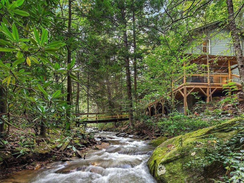 Moonshadows Mountain - Mr Lake Lure Vacation Rentals, alquiler de vacaciones en Bat Cave