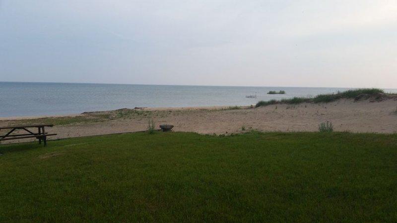stranden....