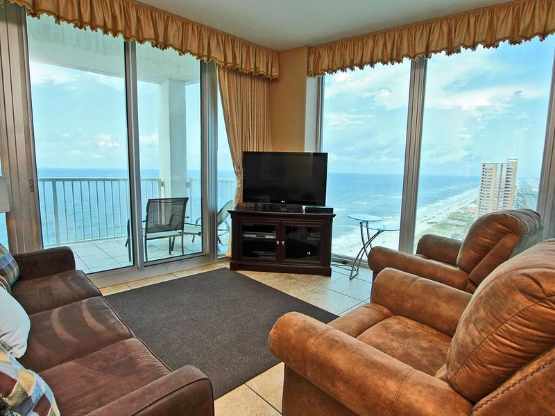 Large Gulf Front Corner Condo on the 22nd Floor