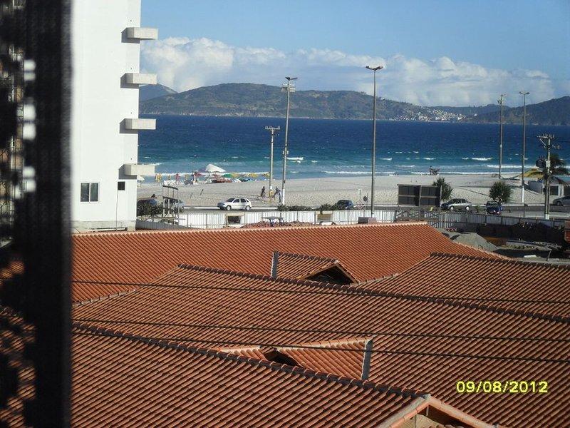 APARTAMENTO 1 QUARTO C/VISTA PRAIA DO FORTE CABO FRIO FRENTE, Ferienwohnung in Cabo Frio