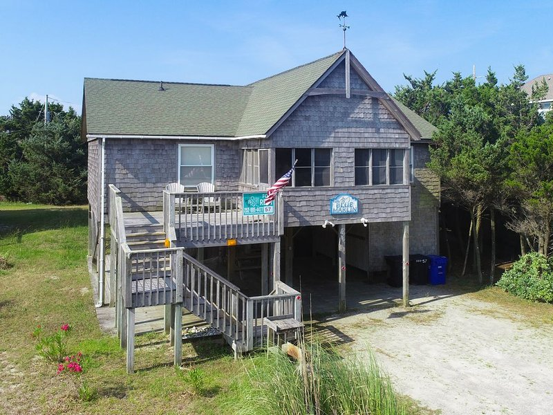 Blue Marlin - Improved 4 Bedroom Oceanside Home in Avon, vacation rental in Avon